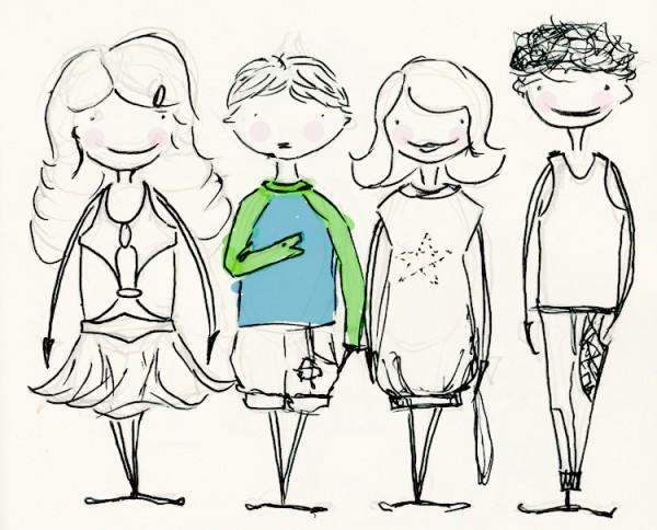 Illustration Froschi