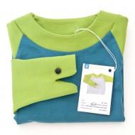 Froschi in grün-blau