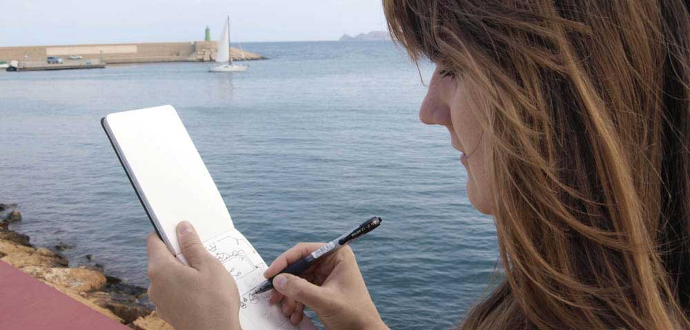 Segelboot Skizzieren