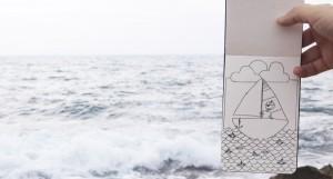 Skizzenbuch Meer