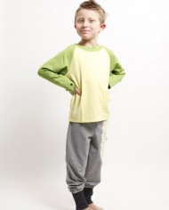 Spielmode-Outfit: Maus-Hose und Froschi in Gelb (Junge)