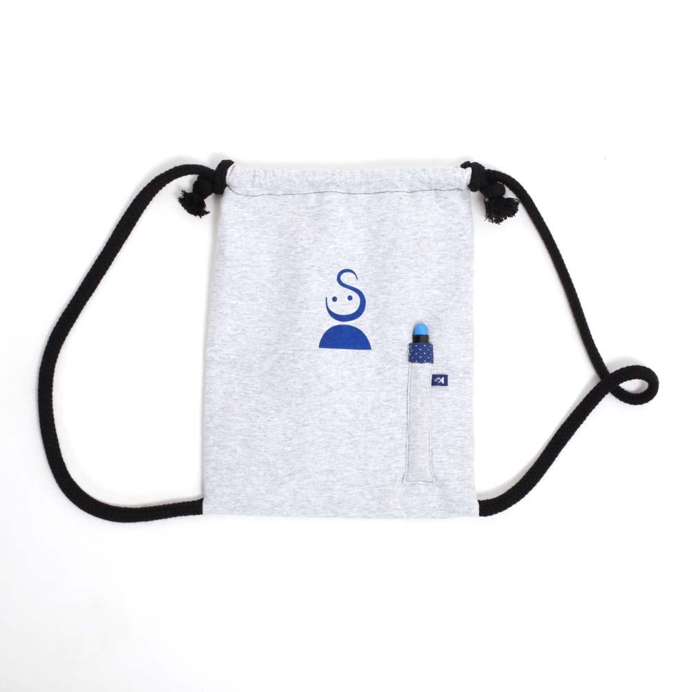 Rucksack zum Bemalen in Blau