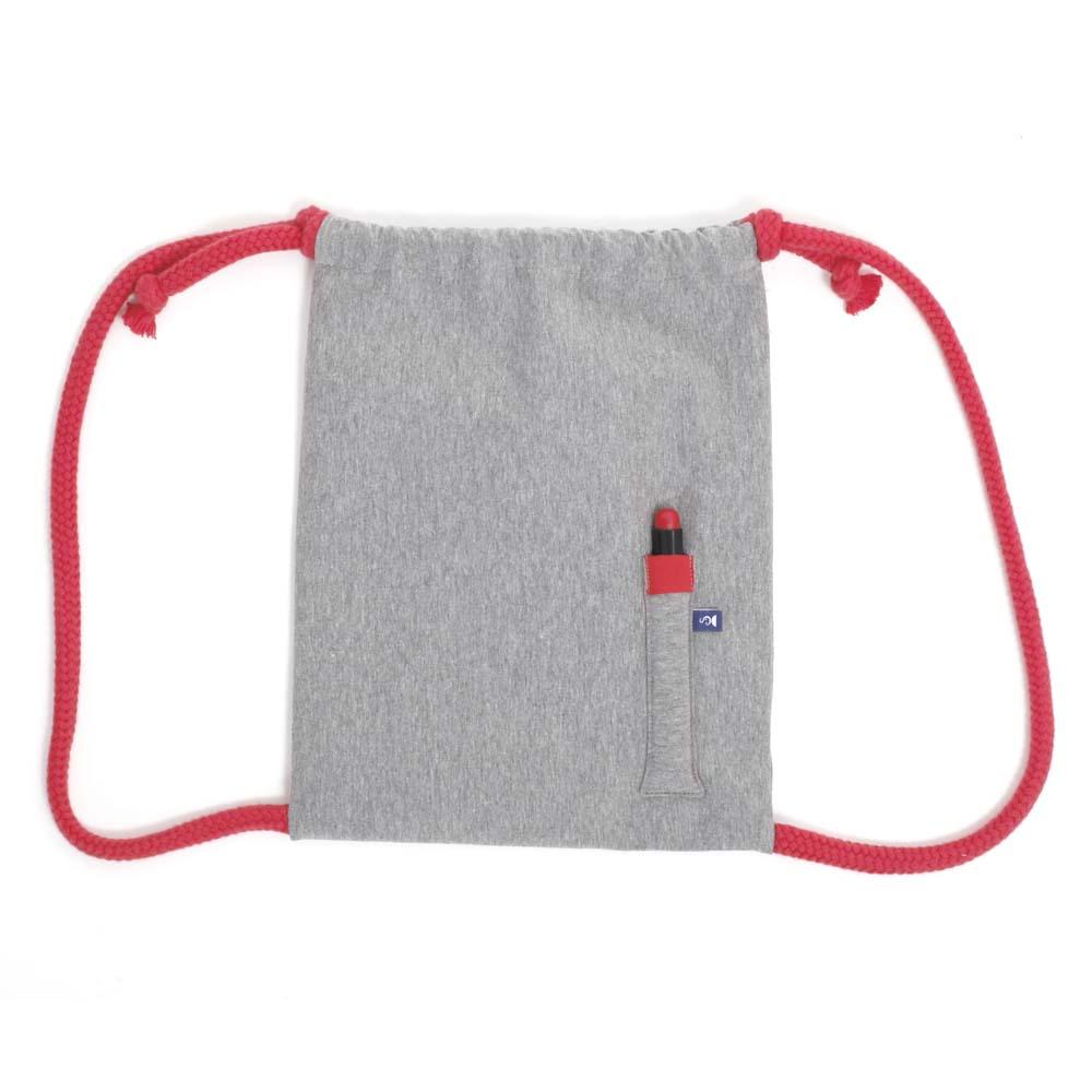Rucksack zum Bemalen in Rot