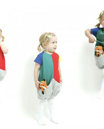 Kinderfotos hoch drei: Kleid Carmencita