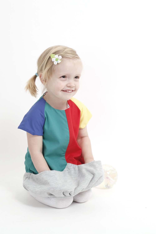 Spielmode-Outfit: Kleid Carmencita mit Riesentaschen