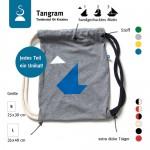 Tangram – Turnbeutel für Kreative (Für Große: 35×40 cm)