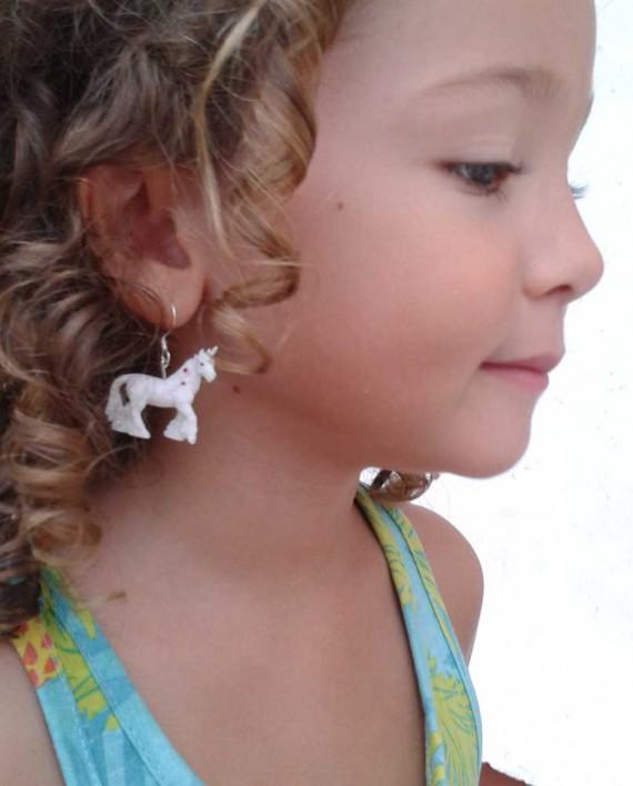 Ohrringe zum Spielen